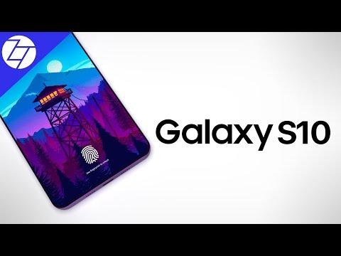 Samsung Galaxy S10 - FINALLY a Notchless Design?