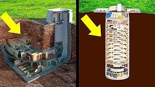 10 Самых Невероятных Бункеров на Случай Конца Света