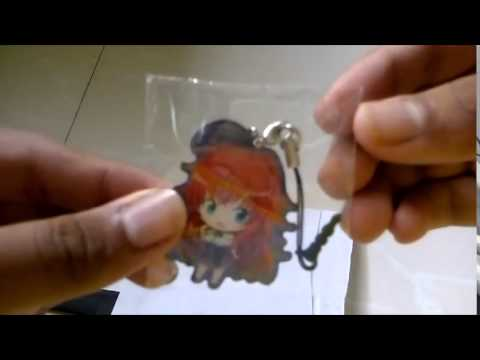 High School DxD Metal Charm Strap Unboxing