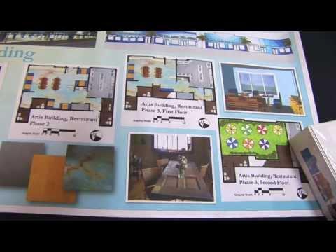 Environmental + Interior Design Program at Chaminade University, Display
