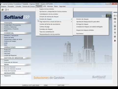 Proveedores Y Tesorería Sistema Erp Sistema Contable