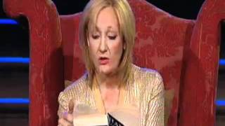 J.K. Rowling reading the first chapter of  Harry Potter and the Deathly Hallows