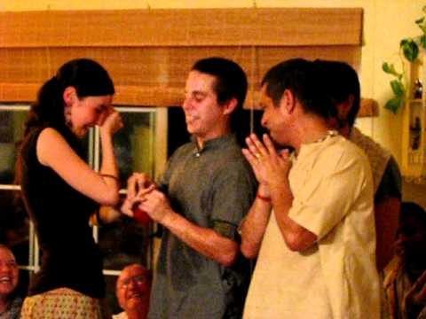 Bali proposes to Dhanya