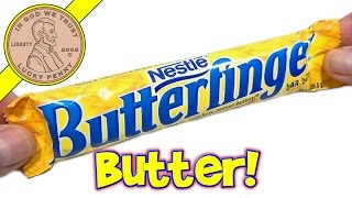 Butterfinger Candy Bar - Crispety, Crunchety, Peanut Buttery! - USA Candy Tasting