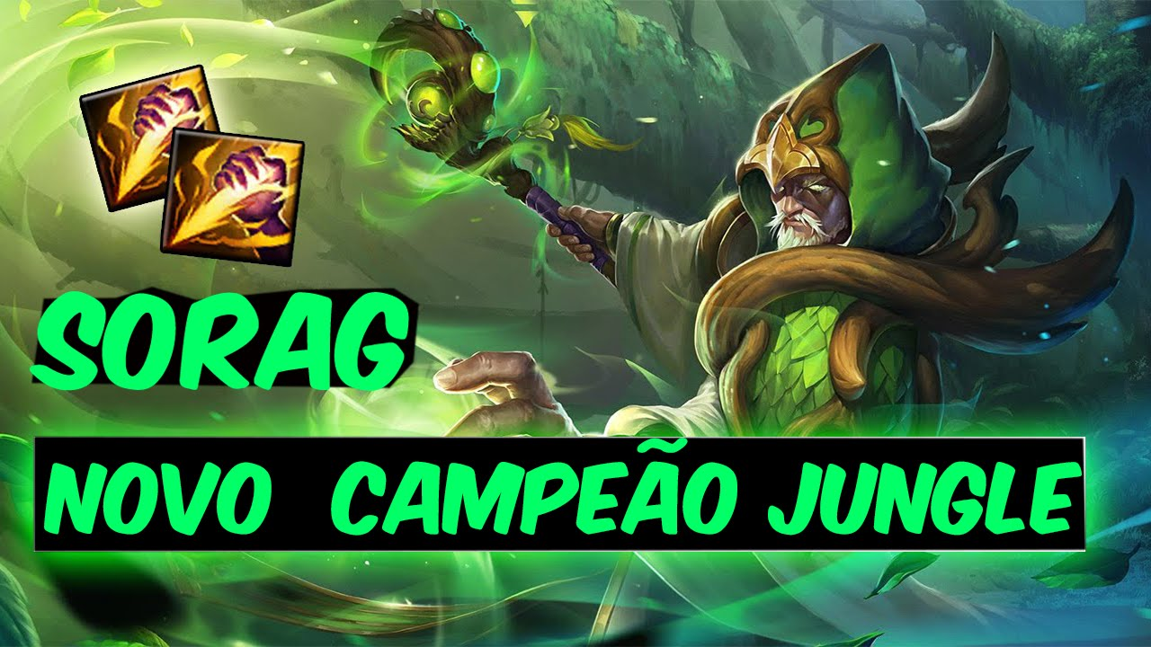 Teaser Frases Do Próximo Campeãosorag Fantasma Da Floresta League