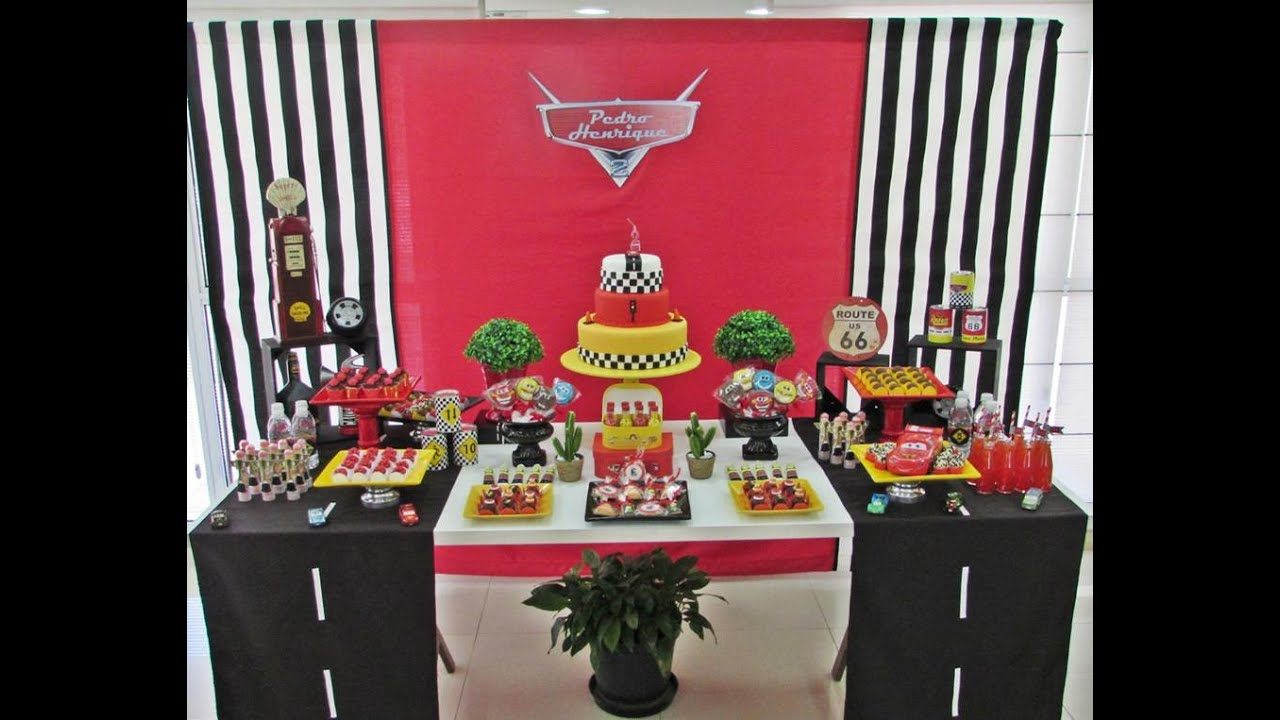 Disney Cars Birthday Party Little Wish Parties Childrens Party