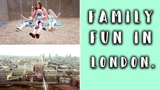 TAKING THREE KIDS ON A FUN TRIP TO LONDON AD