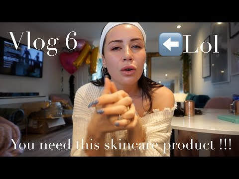 DRESSING GOWN CHATS, SKINCARE DISCOVERY, URBAND DECAY AND SKIING | VLOG 6