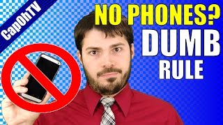 "I Hate the ""No Cell Phones in School"" Rule 
