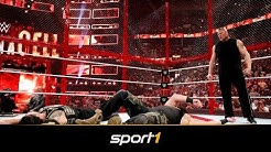 So lief die dicke WWE-Überraschung bei Hell in a Cell | SPORT1