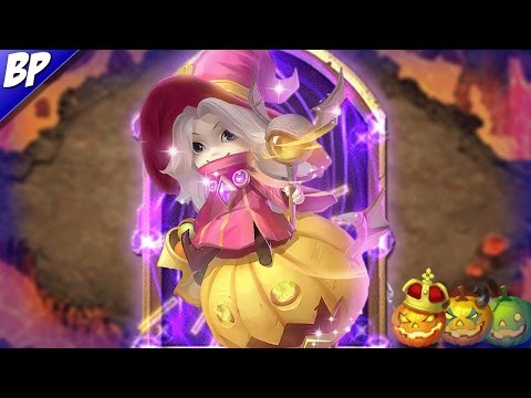 Castle Clash Trixie Treat (Halloween Hero)