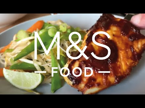 Cook With M&S...Baked Barbecue Cod   M&S Food