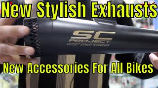 Honda and All MotorCycles New Exhausts And Accessories | MP3 Player With LED Lights |