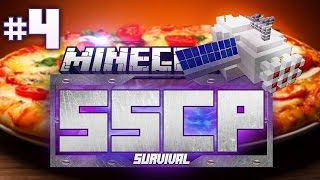 Minecraft Space Station Challenge Pack #4 | PRIZZA TROPHY!? - Minecraft Mod Pack Survival