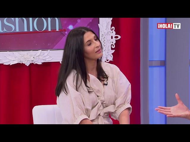 Entrevista Estefania Lacayo H Fashion - Hola TV