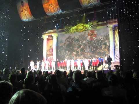 Концертный зал Россия в Лужниках. 200-летие Отечественной войны 1812 года