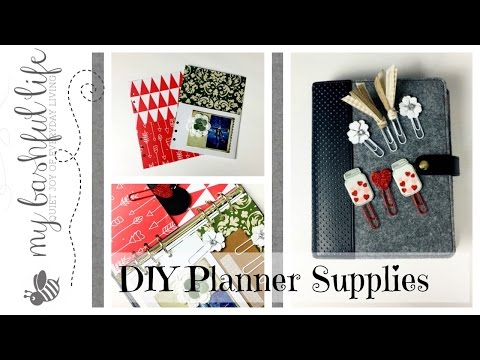 DIY Planner Supplies