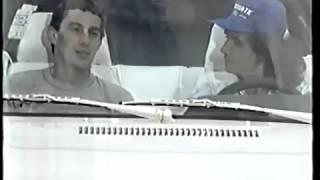 Ayrton Senna no Especial do Roberto Carlos Completo (1988)