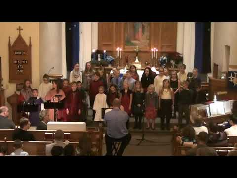 December 16, 2017 - Sunday School Christmas program at Our Savior's, West Salem, Wisconsin