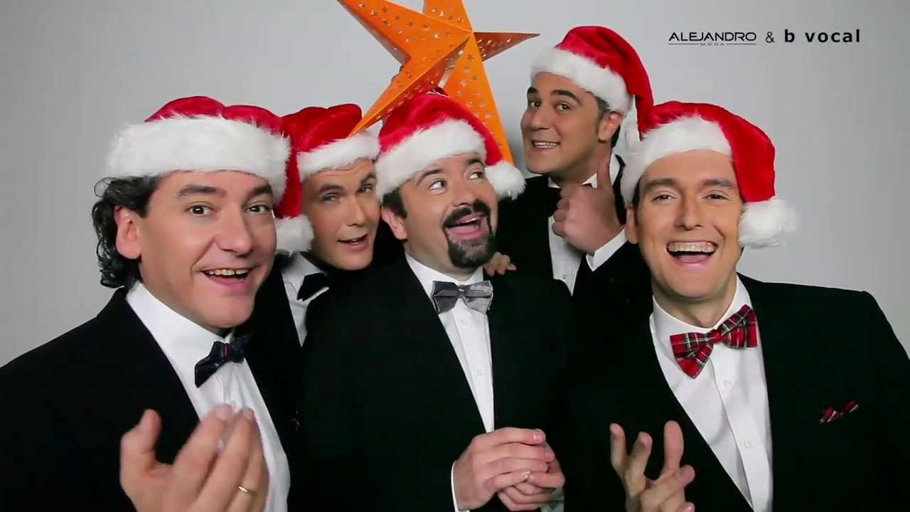 Making Of b vocal A Cappella Christmas - YouTube