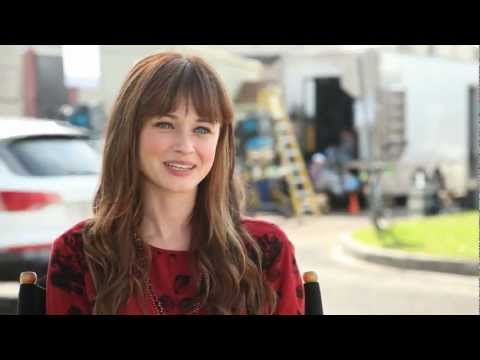 Cast Interview - Alexis Bledel - Tell us about working with Zachary Levi