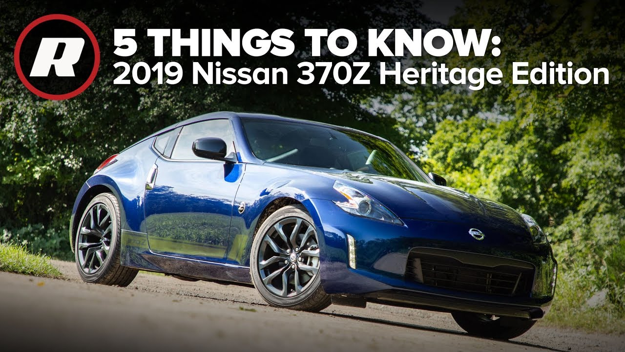 2019 nissan 370z heritage edition  5 things to know