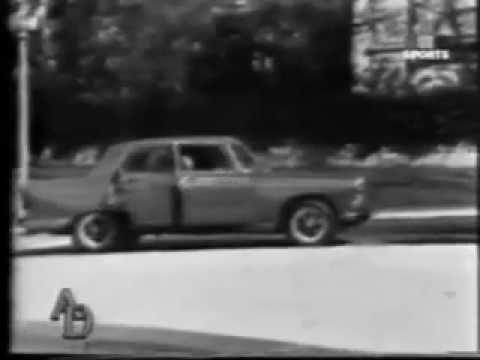Comercial Peugeot 404 GP, Argentina 1972, versión para tv blanco y negro