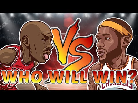 Michael Jordan vs LeBron James!! Who is BETTER???