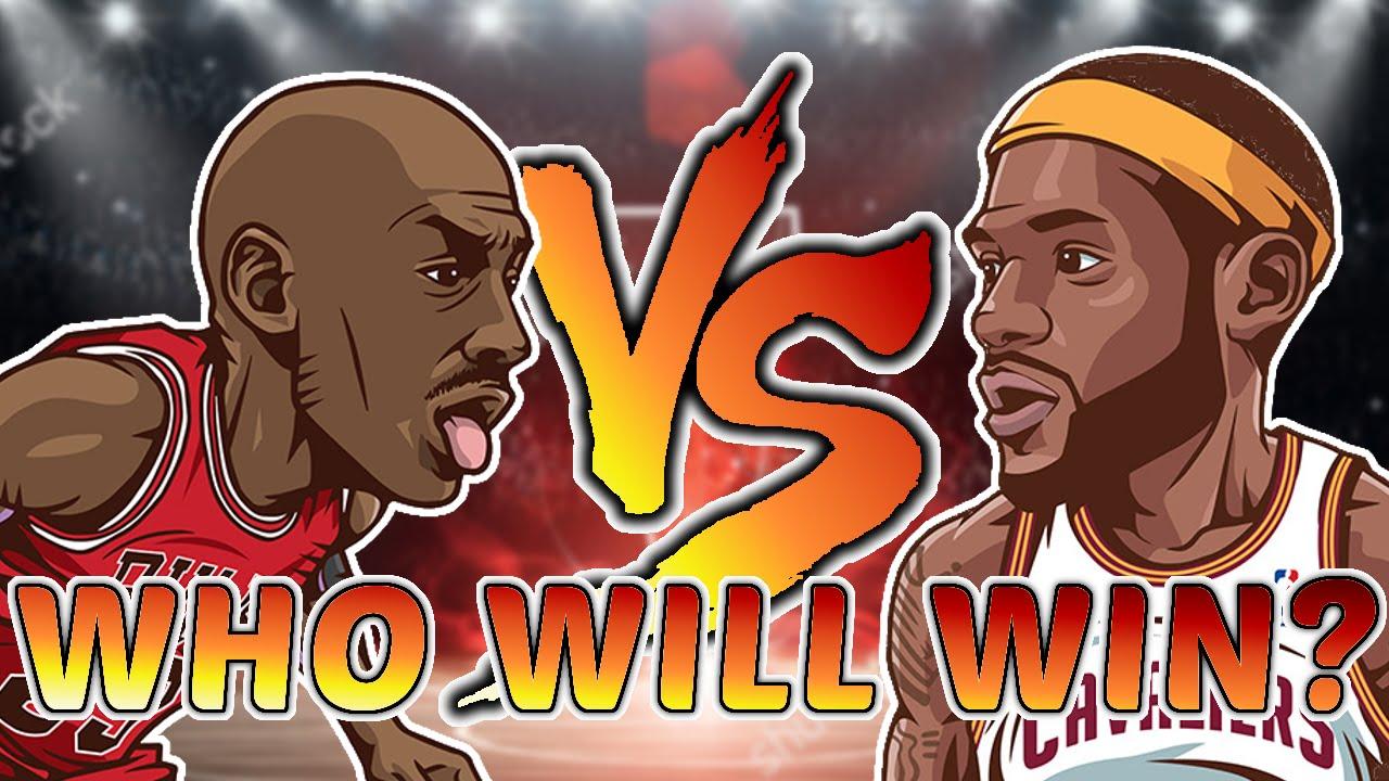 c6fd65638346 Michael Jordan vs LeBron James!! Who is BETTER    - YouTube