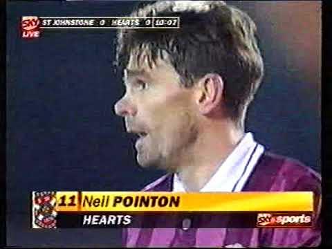 St Johnstone 1 v 2 Hearts Fc Scottish Cup 1996