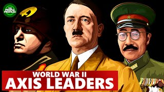 WW2 Axis and Allies - Axis Leaders Tojo, Mussolini & Hitler Biography Documentary
