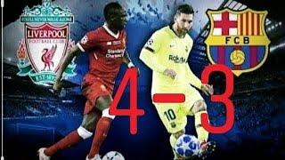 Best comeback in champions league history? Liverpool vs Barcelona