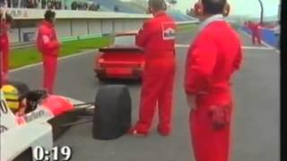 Senna Mclaren F1 car vs road car vs sports car