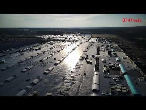 Tesla Giga Berlin, December 05 / 2020+++WEEKEND UPDATE +++ construction progress and tree clearing
