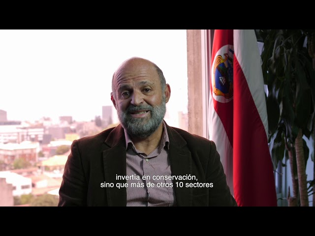 The Environment and Energy Minister of Costa Rica, Carlos Manuel Rodríguez, about BIOFIN