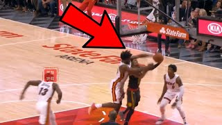 GRAPHIC: Justise Winslow ELBOWS Trae Young's Head OPEN! INSANE!