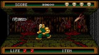 Splatterhouse 2 Walkthrough