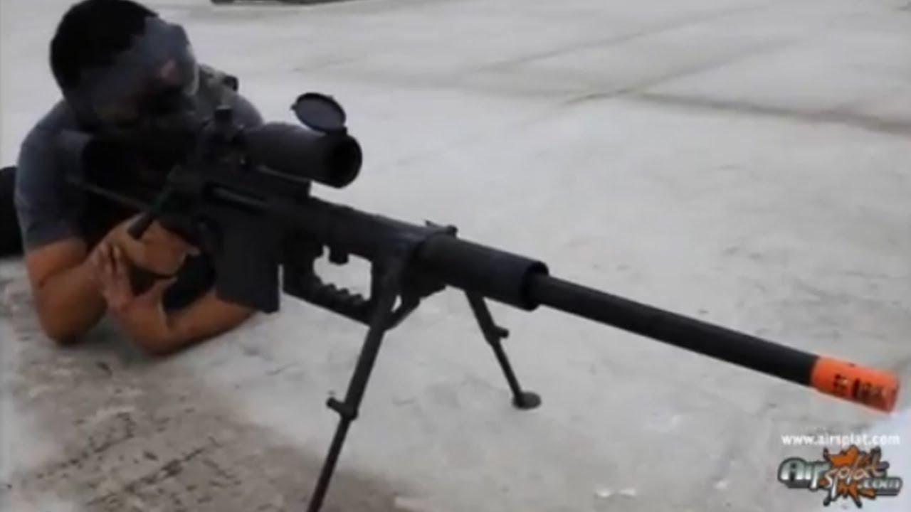 AirSplat - Socom Gear CHEYTAC M200 Airsoft Rifle