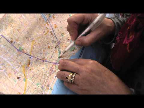 ФРАНЦИЯ: Изучаю карту Ниццы... поиск автобуса на Монако... France Nice