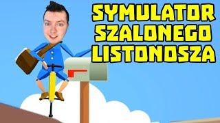 SYMULATOR SZALONEGO LISTONOSZA NA POGO! | Pogo Postman | Getting Over It