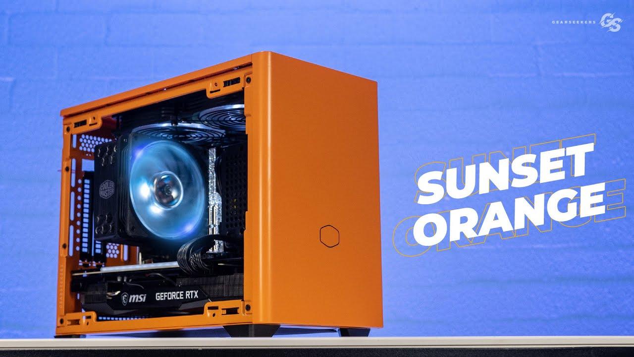 Cooler Master NR200P Orange: Beating my B560 Memory overclock