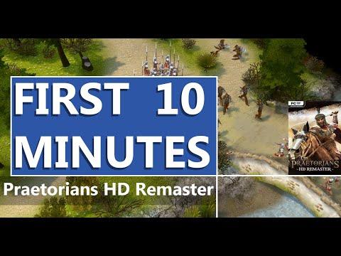 FIRST LOOK   Praetorians HD Remaster   HD GAMEPLAY  