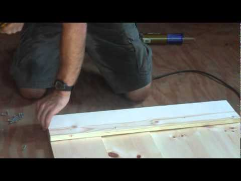How To Build A Barn Door Mpg Youtube