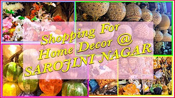 Sarojini Nagar Delhi || Home Decor || You and me shradha ||
