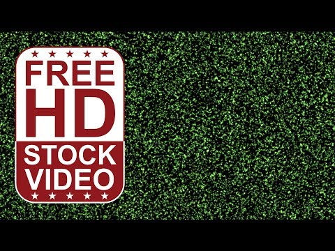 FREE HD video backgrounds – abstract animated green small particles merging slowly grain noise effec