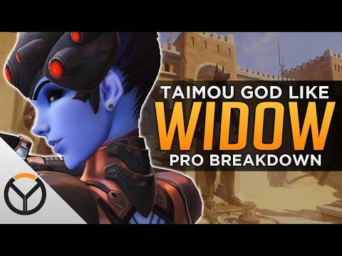 Overwatch: Taimou GODLIKE Widowmaker Aim - Pro Analysis