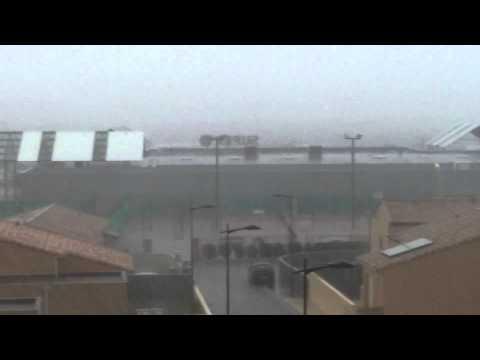 Fortes pluies - Thézan-lès-Béziers