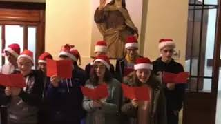 Villancico de alumnos de Teresianas Tarragona