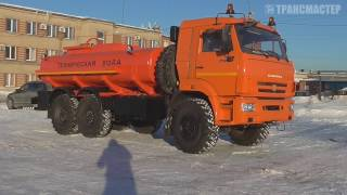 Автоцистерна АЦ-10 шасси КАМАЗ 43118-46