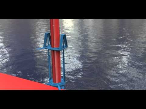 Naval Architecture and Marine Solutions Spud Mechanism